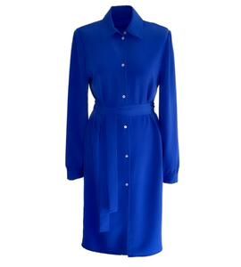 Shirt dress Airin blue